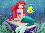 Little Mermaid Sliding Puzzle