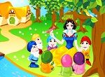 Play Snow White: Seven Dwarfs Decor | EDisneyPrincess.com